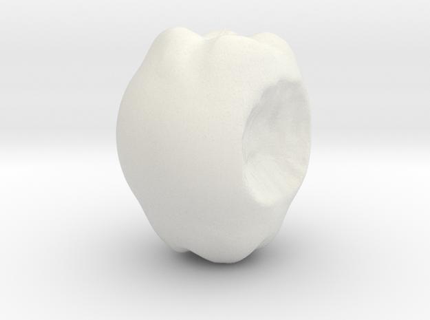A Bite In It in White Natural Versatile Plastic