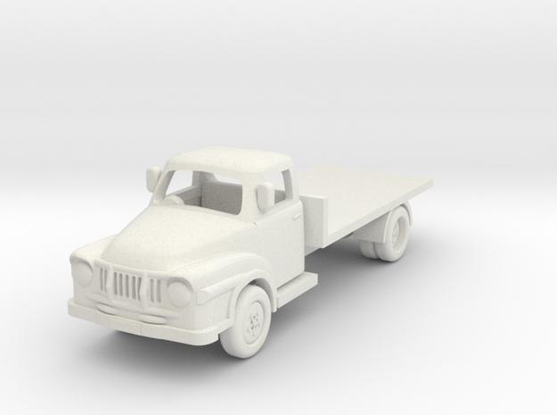 1:87 J2 Bedford in White Natural Versatile Plastic