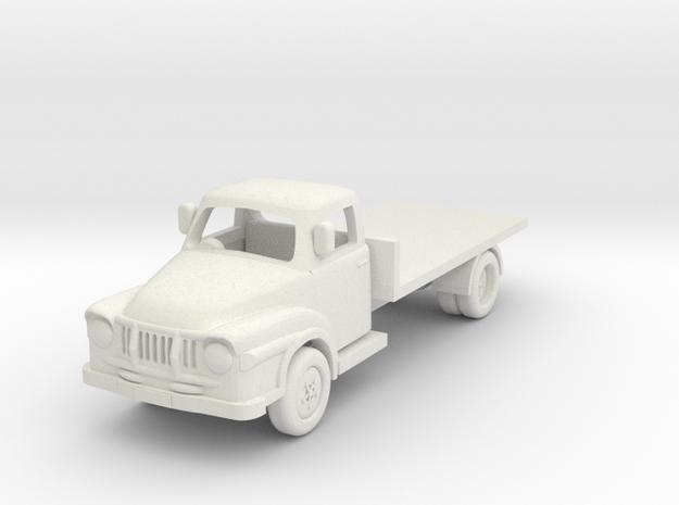1:76 J2 Bedford in White Natural Versatile Plastic