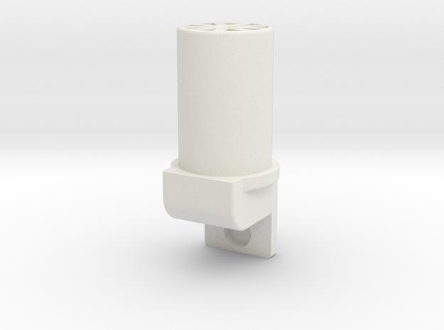 Landing Strut Insert V2 in White Natural Versatile Plastic