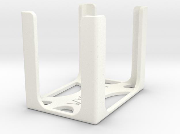 Game Card Holder - ARKHAM in White Processed Versatile Plastic