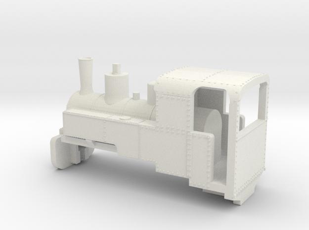 B-1-160-decauville-8ton-060-open-1a in White Natural Versatile Plastic