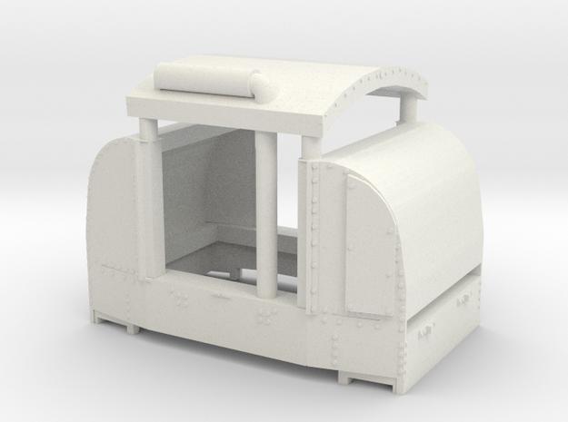 B-1-160-open-simplex-1a in White Natural Versatile Plastic