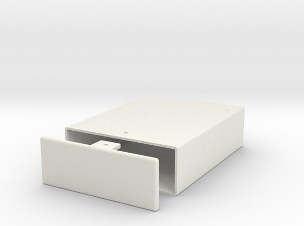 Arduino-Uno R3 sliding box in White Strong & Flexible
