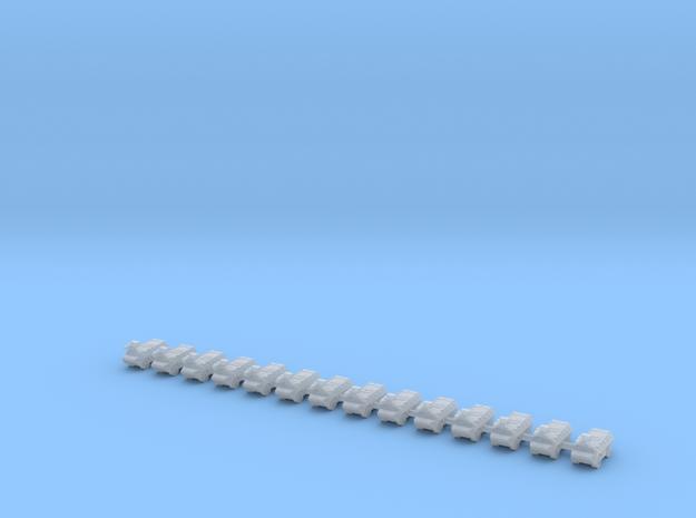 1/700 Vehicule de l'avant blinde (VAB TOP) (x14) in Smooth Fine Detail Plastic