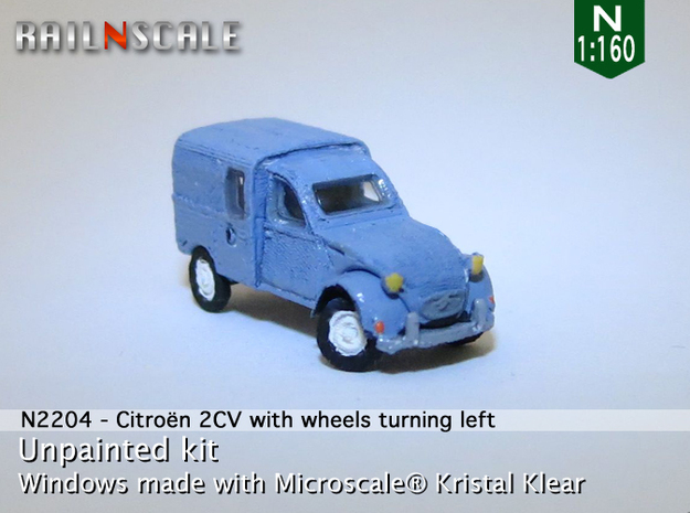 Citroën 250 - parked (N 1:160) in Frosted Ultra Detail