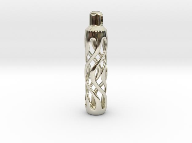 Spiral design pendant 3d printed