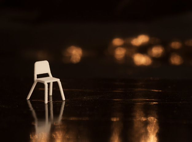 5 1:48 Wenger Orchestra Chairs in White Natural Versatile Plastic