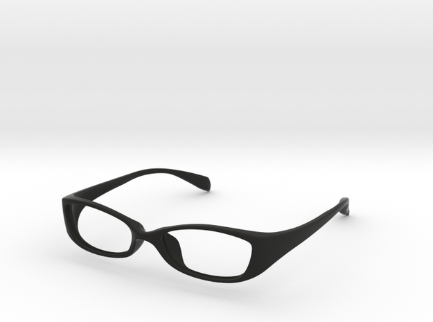 Eyewear in Black Natural Versatile Plastic