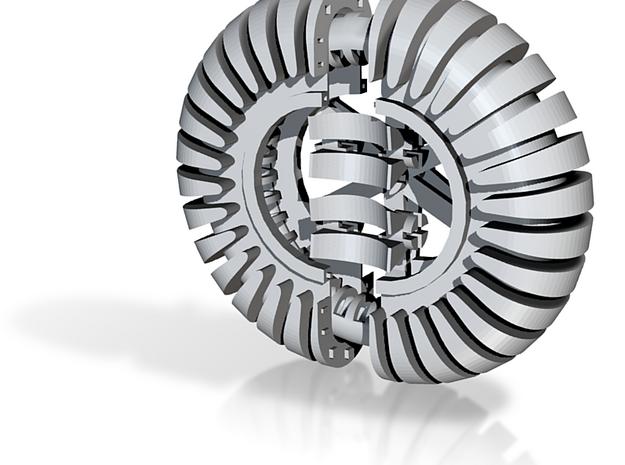 Five phase alternator 3d printed
