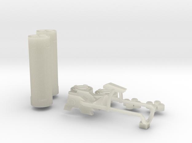 Beam Magnum Launcher Parts 3d printed