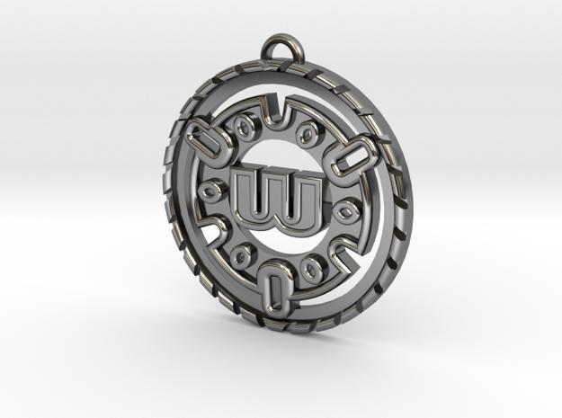 Custom Initial Pendant in Premium Silver