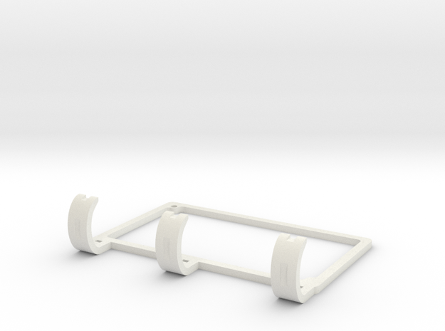 Soporte RAMPS in White Natural Versatile Plastic