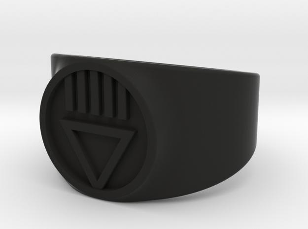 Black Death GL Ver 2 Ring Sz 11 3d printed