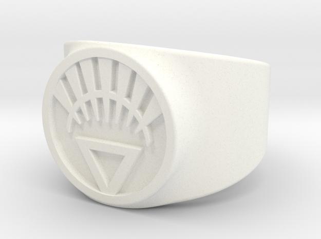 White Life Ver 2 GL Ring Sz 8 3d printed