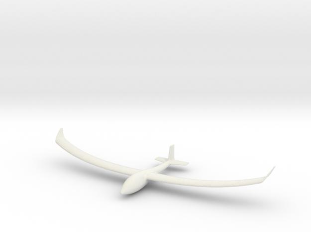 Glider in White Natural Versatile Plastic
