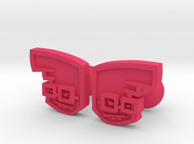 Chu Cufflink Pair 3d printed