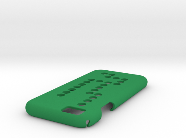 IPhone 6 Case DOTS in Green Processed Versatile Plastic