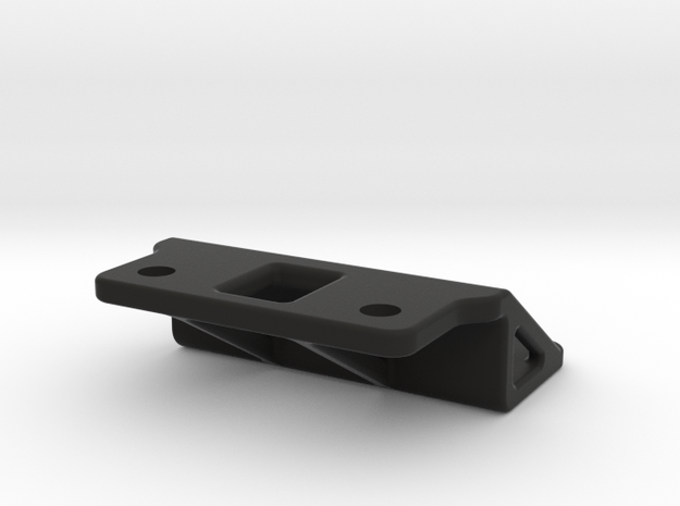 Tamiya M03 On/Off Switch Mount, Custom in Black Natural Versatile Plastic