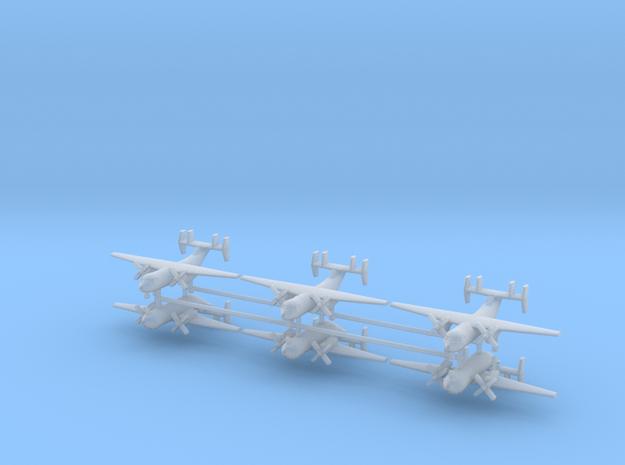 1/542 C-2A Greyhound (x6) in Smooth Fine Detail Plastic