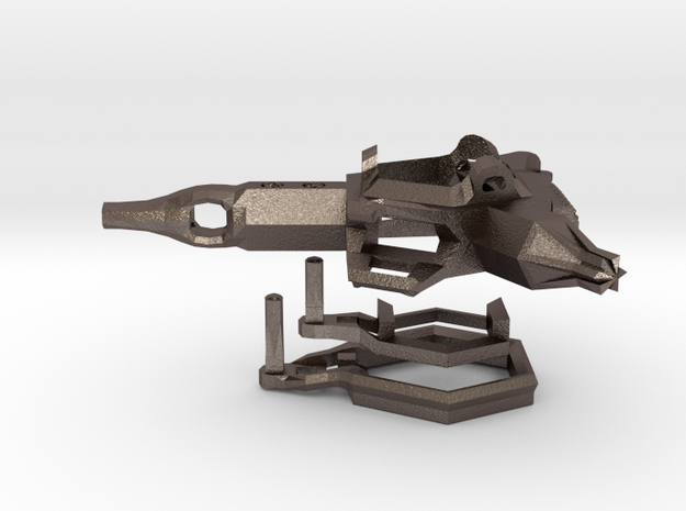 2014 Stacker Skate Tool in Polished Bronzed Silver Steel