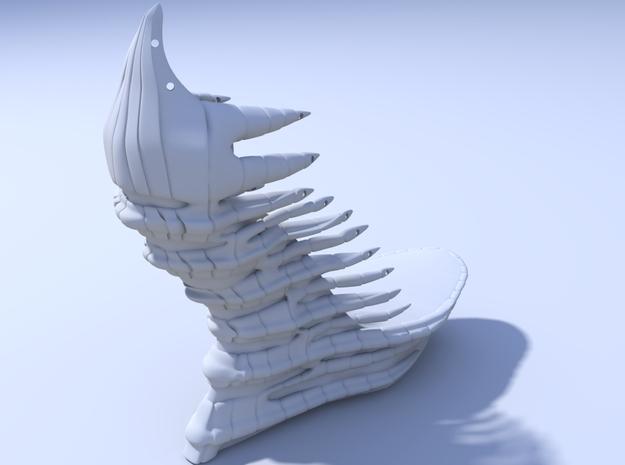 Janina Alleyne - Reptile Shoe 3d printed Render 3