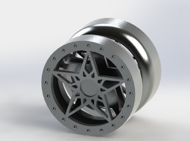 Lone Star YoYo 3d printed A tribute to the spirit of the Lone Star State