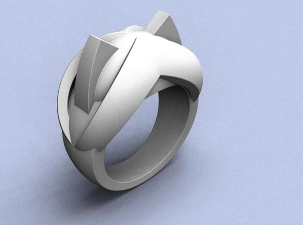 Katy Kat Ring - Size 8 (18.19 mm) in Polished Silver