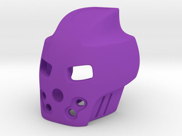 Bionicle - Stylized Pakari (Axle connection) in Purple Processed Versatile Plastic
