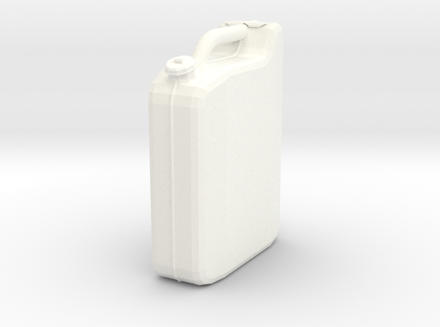 BIG Canister (Token) in White Processed Versatile Plastic