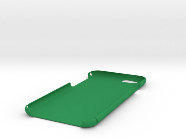 iPhone 6 Plain Case in Green Processed Versatile Plastic