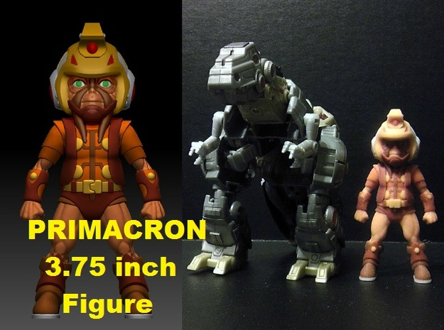 Primacron homage Space Monkey 3.75inch Mini Figure