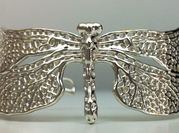 Dragonfly sizes XS-XL in Premium Silver: Small