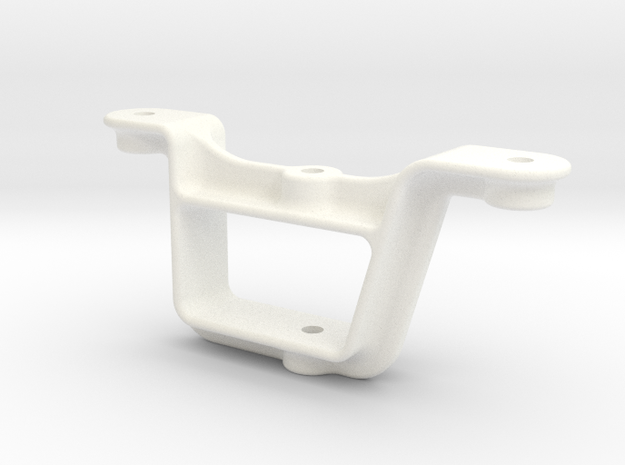 "D&RG Brake Chain Roller - 2.5"" scale in White Processed Versatile Plastic"
