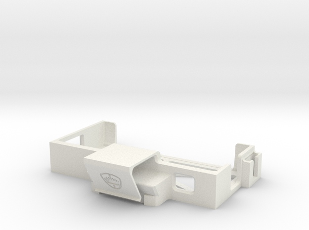 SP3 USB Holder in White Natural Versatile Plastic