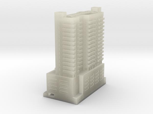 Miami Hotel 2 x 4 3d printed