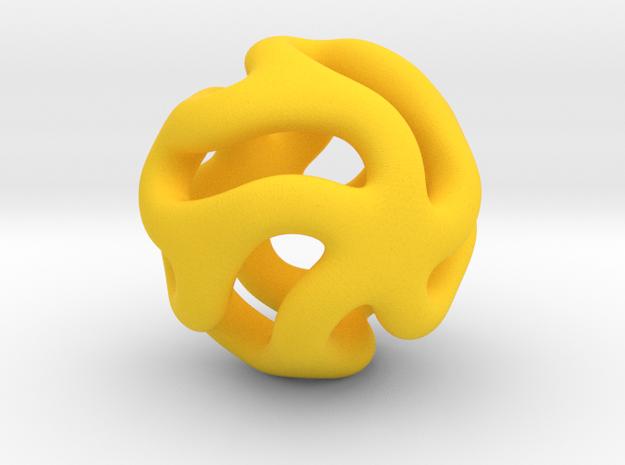 Starfish Kanga Pendant 3d printed