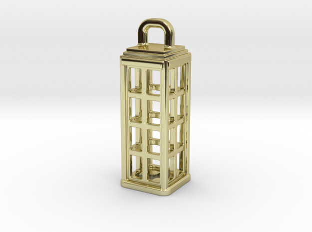Tardis Lantern 1: Tritium (All Materials) 3d printed