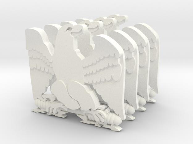AIGLE NAPOLEON X4 in White Strong & Flexible Polished