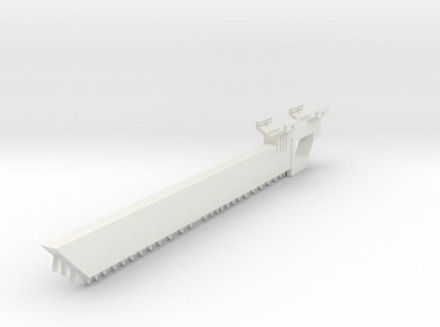 Chainknife Bayonet in White Natural Versatile Plastic