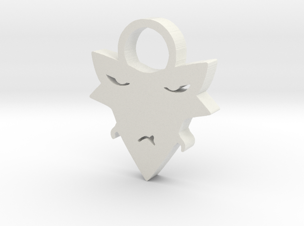 Zed necklace in White Natural Versatile Plastic