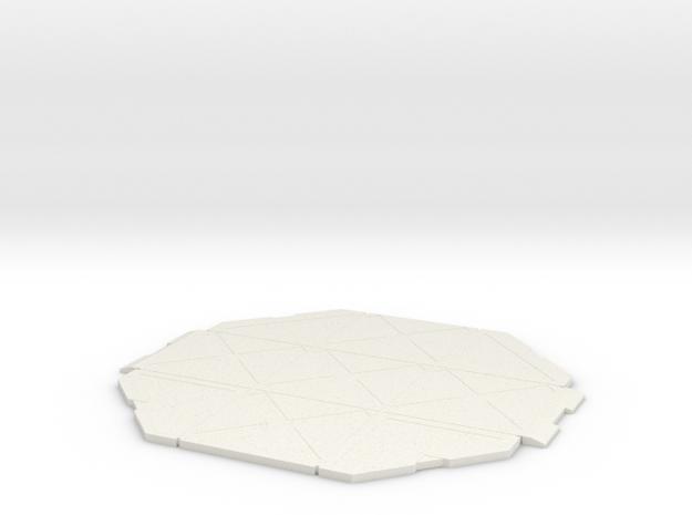 5cm x 5cm Display Platform in White Strong & Flexible