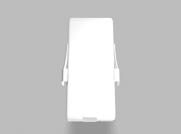 Universal Slim Smartphone Tablet 3200mah Charger in White Processed Versatile Plastic