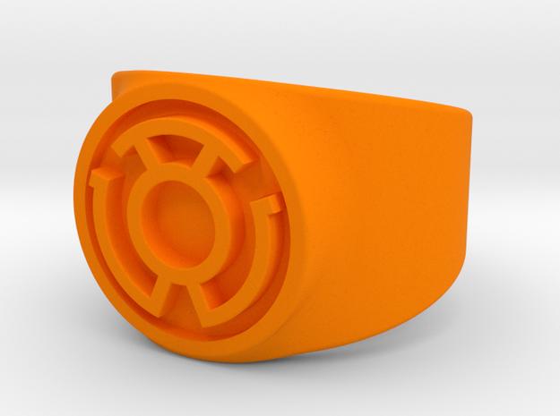 Sinestro Yellow Fear GL Ring Sz 8 3d printed