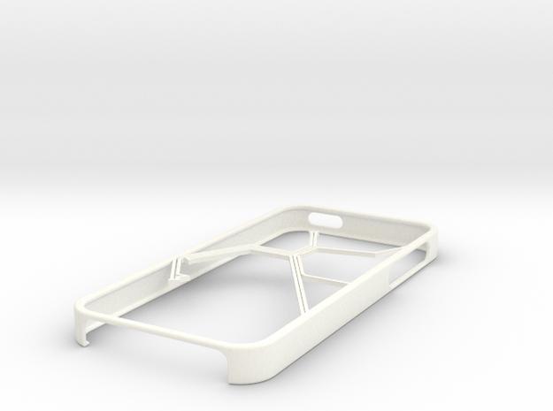 Bay Area Rapid Transit map Iphone 5s case in White Processed Versatile Plastic