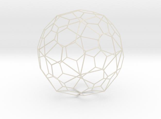 Pentagonal Hexecontehedron, large 3d printed
