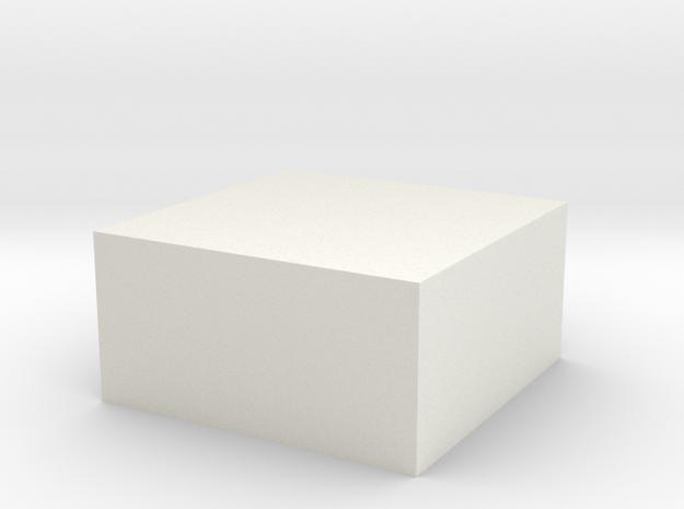 Kubos in White Natural Versatile Plastic