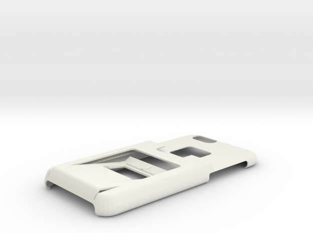 Amznfx Iphone 6 case, wallet, money clip, opener in White Natural Versatile Plastic