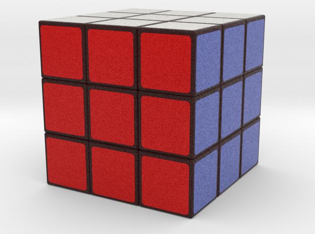 Cube in Full Color Sandstone