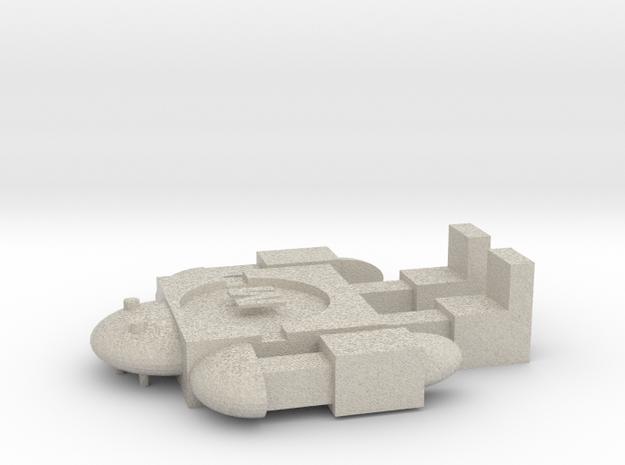 Maker Bot in Sandstone